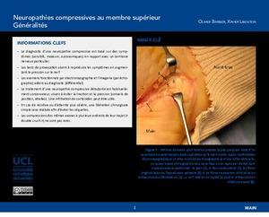 """""""Neuropathies compressives au membre supérieur. Généralités"""" icon"""