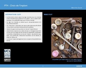 """""""Prothèse totale de hanche : choix de l'implant"""" icon"""
