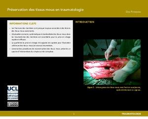 Préservation des tissus mous en traumatologie icon